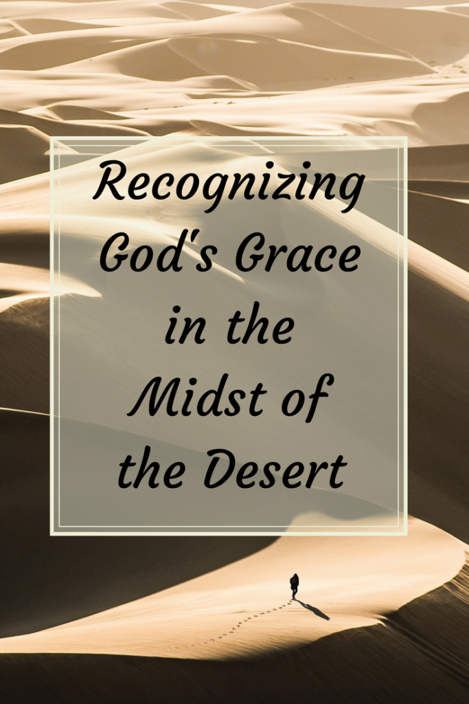 Recognizing God's Grace in the Midst of the Desert