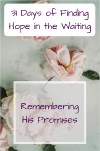 Remembering His faithfulness
