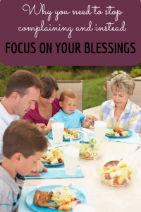 When life is not as we think it should be, it is so easy to focus on what we do not have rather than the blessings God has poured out on us. We must intentionally dwell on the blessings of God.