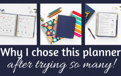 My review of the Living Well planner