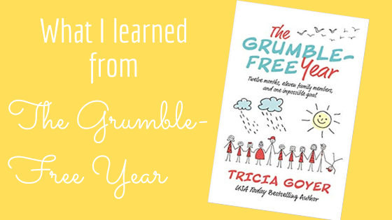 Review of The Grumble-Free Year by Tricia Goyer